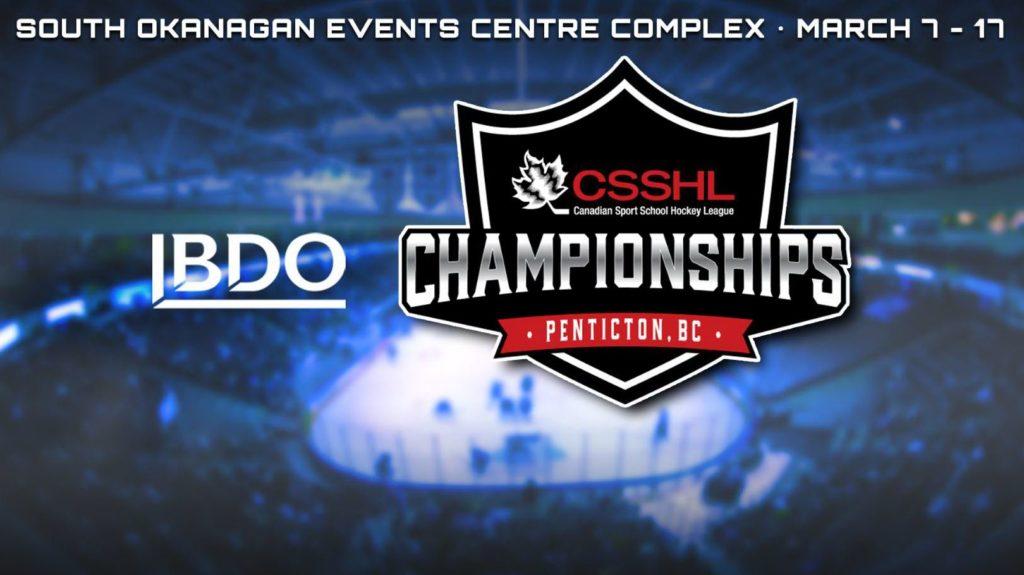 The Canadian Sport School Hockey League (CSSHL) announced