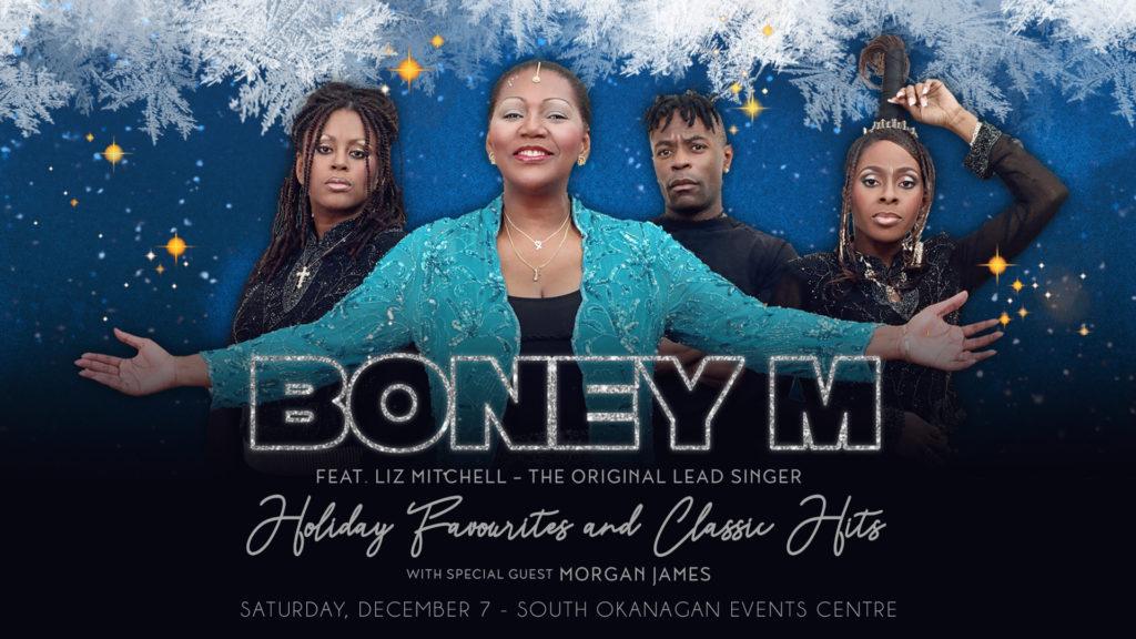 Boney M Christmas Album.Euro Caribbean Vocal Group Boney M To Perform In Penticton