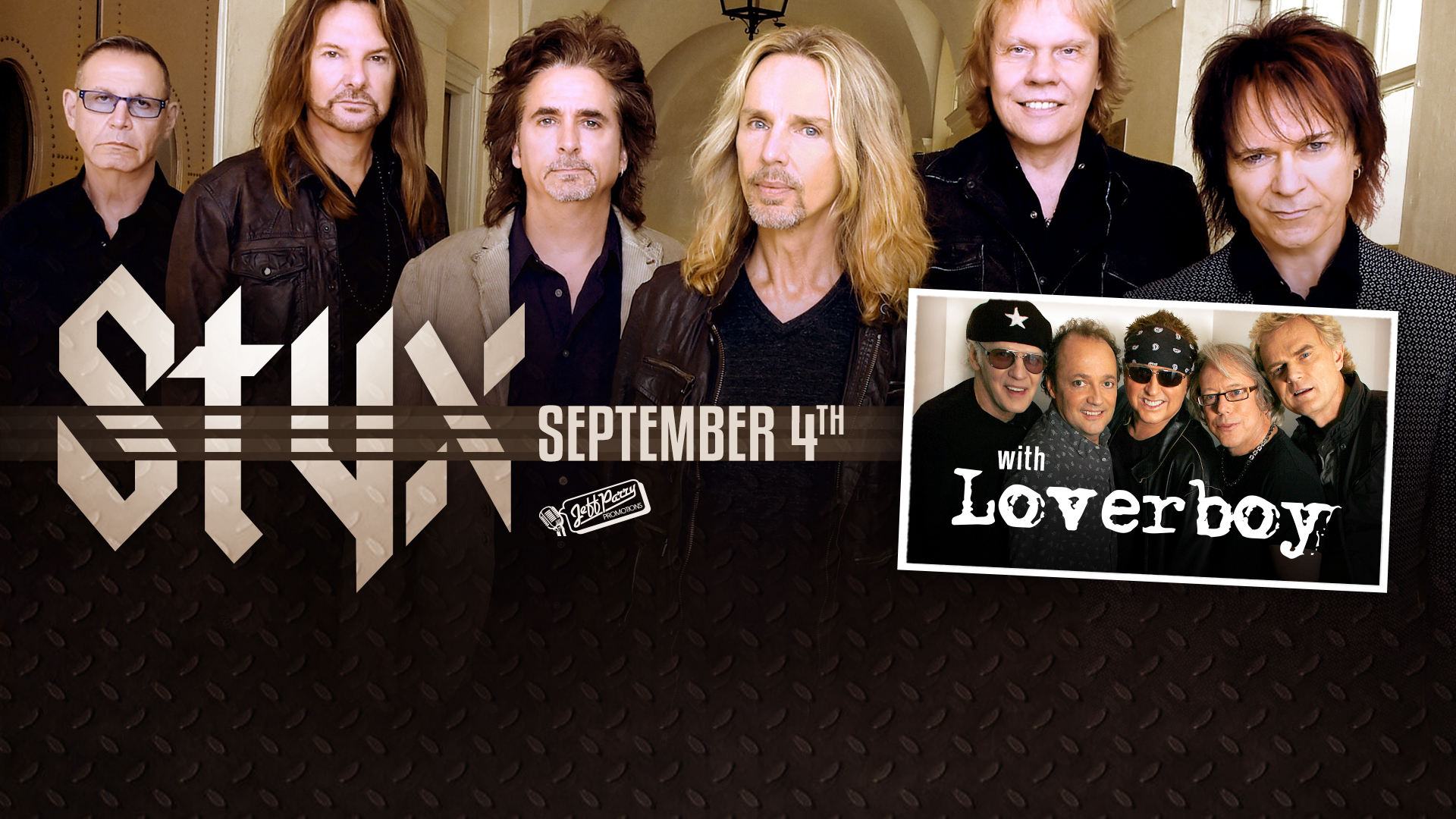 Styx With Loverboy South Okanagan Events Centre