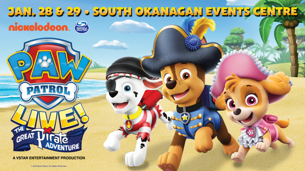 "JUST ANNOUNCED: X Barks the Spot in PAW Patrol Live! ""The Great"