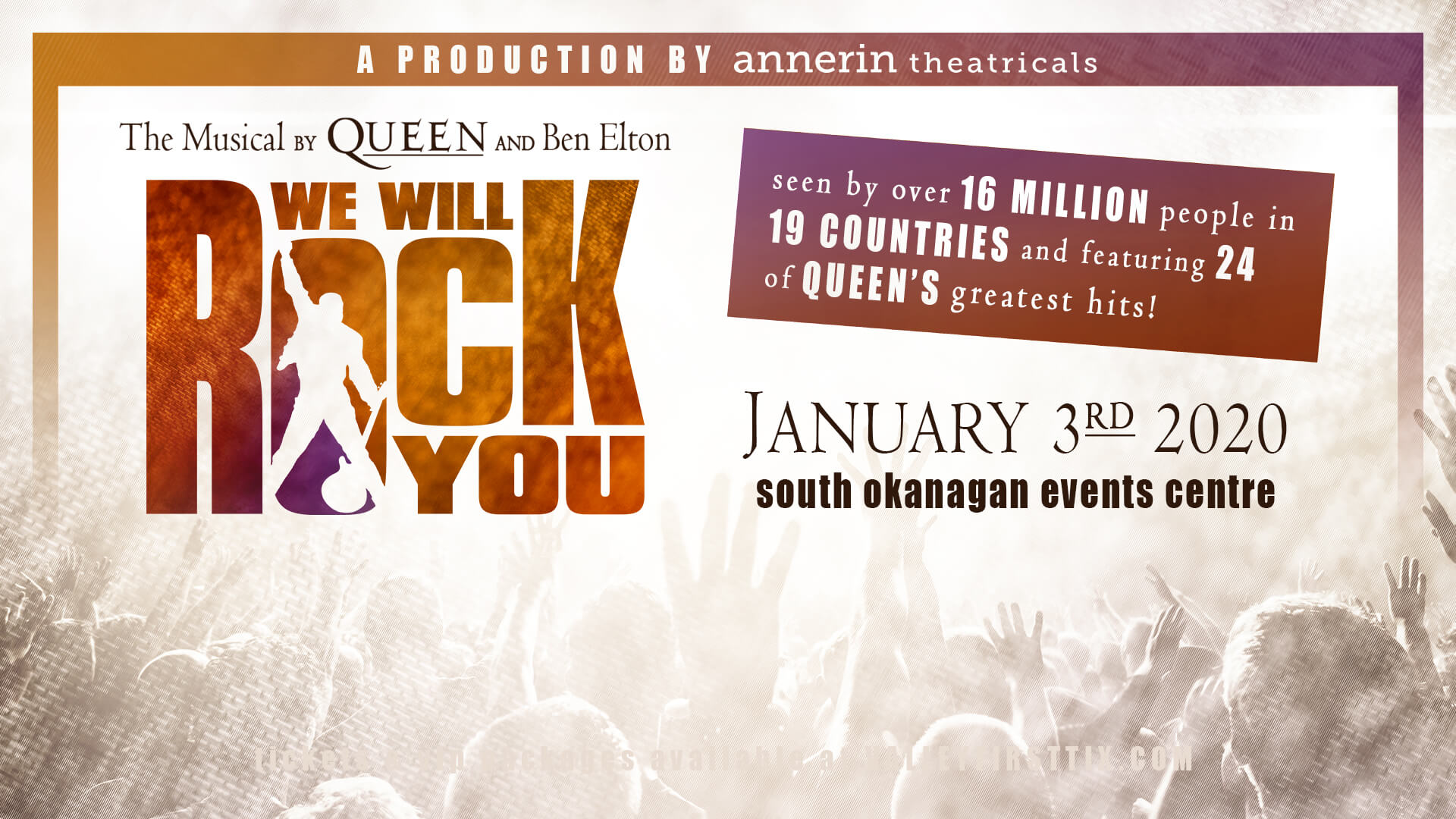 We Will Rock You | Queen-Inspired Rock Musical | South